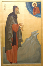 Icon of the Righteous Joseph the Hesychast - Russian - (SJO10)
