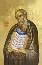 Icon of the Apostle John the Theologian - Twelve Apostles Series - (1JT15)