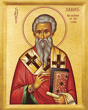 Icon of the Apostle James Brother of the Lord - 20th c. - (1JA10)