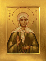 Icon of St. Matrona the Blind of Moscow - 20th c. - (1MA19)