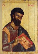 Icon of St. Mark - 14th c. Hilandar Monastery - (1MA09)