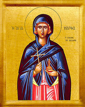 Icon of St. Martha - 20th c. - (1MA70)