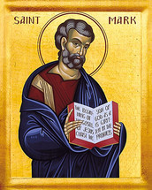 Icon of the Apostle Mark the Evangelist - English - (1MA11)