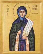 Icon of St. Methodia - 20th c. - (1ME50)