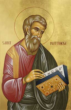 Icon of the Apostle Matthew the Evangelist - Twelve Apostles Series - (1MA22)