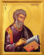 Icon of St. Matthew - 20th c. - (1MA20)