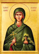 Icon of St. Mary Magdalene - 20th c. - (1MA52)