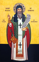 Icon of St. Mark of Ephesus - 20th c. - (1MA30)