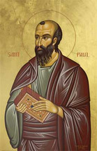 Icon of the Apostle Paul - Twelve Apostles Series - (1PA31)