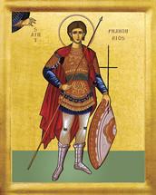 Icon of St. Phanourios - 20th c. - (1PH06)