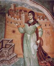 Icon of St. Photini the Samaritan Woman - 14th c. Panselinos - (1PH20)