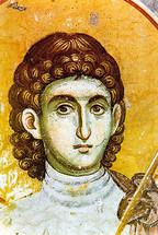Icon of St. Prokopios - 14th c. Panselinos - (1PR10)