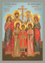 Icon of the Royal Martyrs - English - (1RM10)