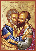 Icon of the Apostles Peter & Paul - 20th c. - (1PP11)