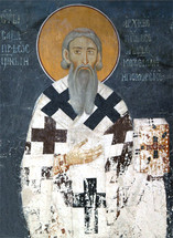 Icon of St. Sava of Serbia - 13th c. - (SSA11)