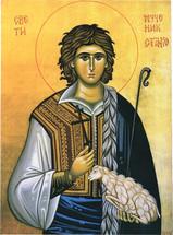 Icon of The Holy Martyr Stanko of Serbia - (STO10)
