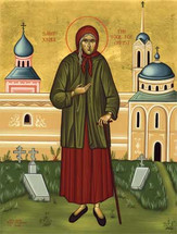 St. Xenia the Fool-for-Christ - 21st c. - English - (1XE13)