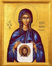 Icon of St. Veroniki (Veronica) - 20th c. - (1VE10)