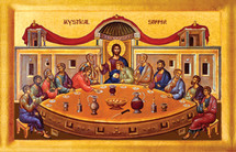 Icon of the Mystical Supper - 20th c. - (11G05)