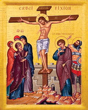 Icon of the Crucifixion - 20th c. - (11H06)