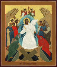 Icon of the Resurrection - 20th c. English - (11K04)