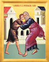 Icon of the Parable of the Prodigal Son - 20th c. - (11Q10)
