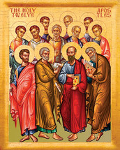 Icon of the Twelve Apostles - 20th c. - (1AP10)