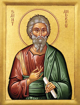 Icon of the Apostle Andrew the First-called - 20th c. - (1AN10)