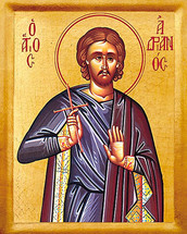 Icon of St. Adrian - 20th c. - (1AD10)