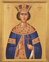 Icon of St. Irene Great Martyr - 20th c. - (1IR20)