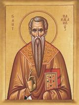 Icon of St. Haralambos - 20th c. - (1HA12)