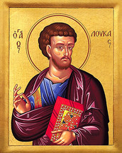 Icon of the Apostle Luke - 20th c. - (1LU30)