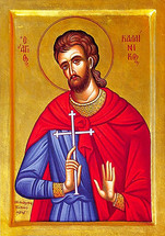 Icon of St. Kallinikos - 20th c. - (1KA20)
