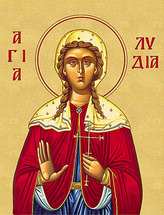 Icon of St. Lydia - (1LY10)