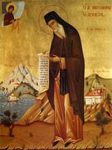 Icon of St. Nikodemos the Hagiorite (of Mount Athos) - (1NI72)