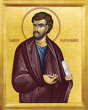 Icon of St. Nathaniel - 20th c. - (1NA11)