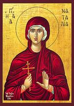 Icon of St. Natalia - 20th c. - (1NA10)