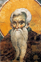 Icon of St. Neilos the Ascetic - 14th c. Panselinos - (1NE20)
