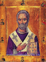 St. Nicholas of Myra - 11th c. Mt. Sinai - (1NI11)