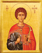 Icon of St. Tryphon - 20th c. - (1TR10)