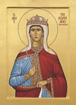 Icon of St. Theophano the Empress - 20th c. St. Anthony's Monastery - (1TH50)
