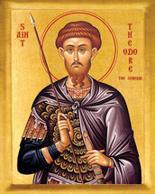 St. Theodore Tyron - 20th c. - (1TH21)