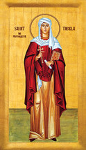 Icon of St. Thekla - 20th c. - (1TH01)