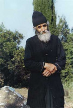 Icon of Saint Paisios the Athonite - Photograph - (GJH13)