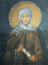 icon of St. Ephraim the Syrian - 14th c. (Panselinos) - (1EP12)