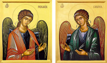 Archangels 20th c. Matched Icon Set - (MMG11)