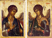Icon Set: Archangels, Hilandar Monastery - (MMG14)