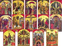 Stavronikita Monastery Icon Series - (MDM11)