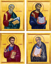 Four Evangelists Matched Icon Set - (MFE10)