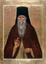 Icon of St. Ambrose of Optina - 20th c. (1AM10)